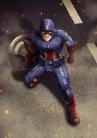 Avenge-a-thon: Captain America by ryodita