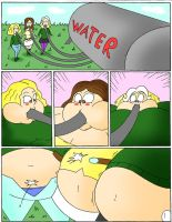 Total drama water balloons page 1 by Robot001