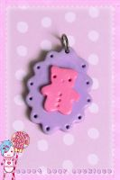 Sweet Bear Necklace by CandyStripedCafe