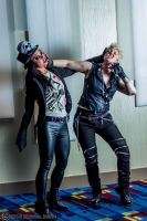 Alice Cooper and Billy Idol 3 by Insane-Pencil
