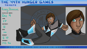 The 44th Annual Hunger Games- Emory Damascus by OCT-Willpower