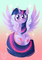 Princess Twilight Sparkle by mmishee