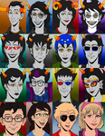 Homestuck: All Of Them. by tygerbug