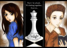 Edward + Bella - Forever by Hyo-pon