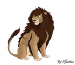 Lion Adon by Aflamia