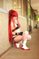 Yoko Littner- Happynis by fallingoffthetable