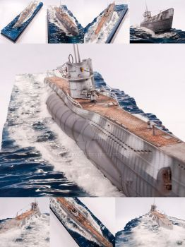 U-82 Surfacing by theCrow65
