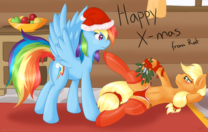 A Saucy Christmas by RatofDrawn