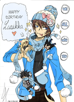 Happy B-Day Lusikka by miyozu