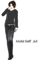 Self Male Jul [MMD] by Deiroko