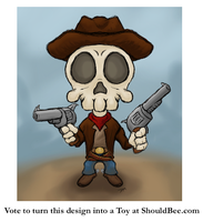 Skull Bandit by Mehdals by ShouldBee