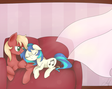 Afternoon nap - Commission by MaggyMss