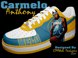 NEW: Carmelo Anthony Shoe by CMWebStudios