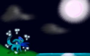 Moonlight Glaceon by ShadowofMoons