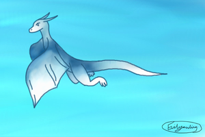 Dragon by evilyowling