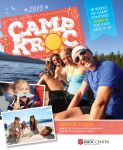 Camp Kroc 2015 Brochure by banjoeskimo