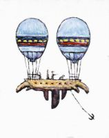 Air Balloon by CliveBarker
