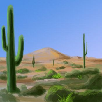 Desert 1 by EllieVyle