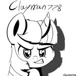 twilight sparkle (my new profile picture) by clayman778