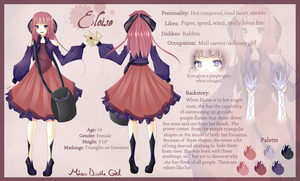 New OC: Eloise (REVISED) by JelArts
