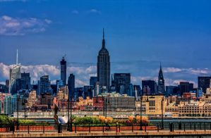 Empire State Building from far, far away by A1k3misT