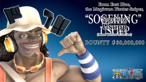 Brave Warrior of the Sea, Sogeking Usopp by GeneralSoundwave