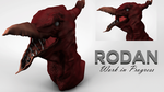 Rodan Work In Progress by ProjectCornDog