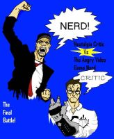 Nostalgia Critic vs The AVGN by Moa316