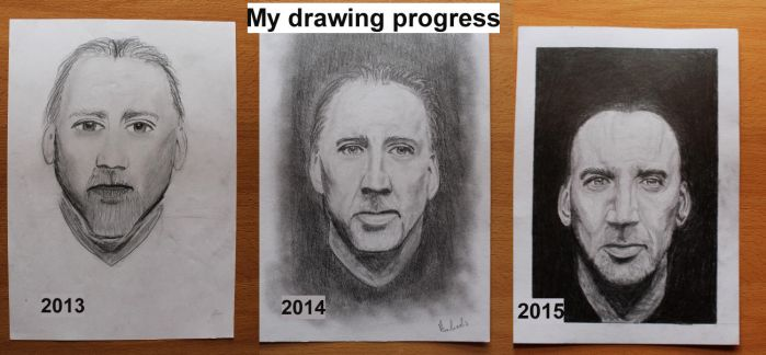 Drawing Improvement 2013-2015 by Anbeads