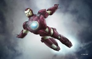 IRON MAN1 by VdVector