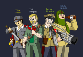 C.O.D. Zombie killers by Brian12