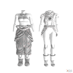 DBXV - Human Female Clothes Pack IV by Postmortacum