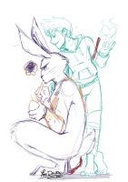 + ROTG Sketch: FrostHeart + by Yore-Donatsu