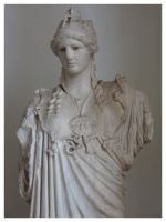 Statue of Athena by Humble-Novice