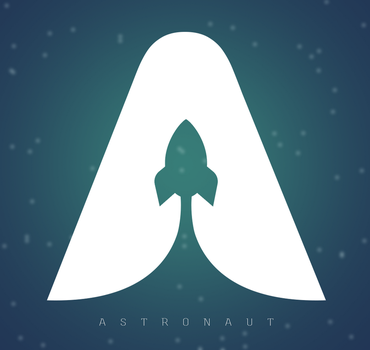 ASTRONAUT by ZivDesigns