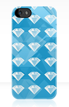 Diamond iPhone Case by AquaDewRose