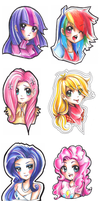 Humanized MLP Bustsss by oshiz