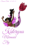 Comission - Kateryna Mermaid Fly by Eleanor-Devil
