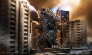 zSpaceGodzilla power up by dopepope