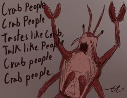 Crab People by GingaAkam