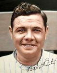 Babe Ruth 1920 New York Yankees debut by agusgusart