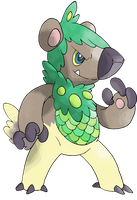 KOBOBUSH FAKEMON by jof410