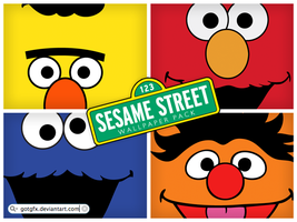 Sesame Street wallpaper pack by GotGfx