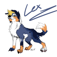 :KP:Lex Colored Sketch: by Vinabe