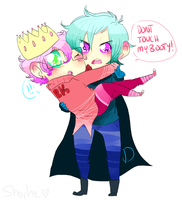 Prince Dick and King Butts by DonitKitt