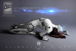 Cyborg Girl 2 by 35-Elissandro