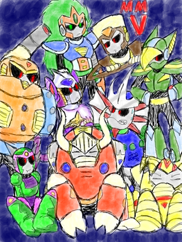 STARDROIDS by Jannelly