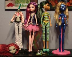 Monster High Customs WIP by rainbow1977