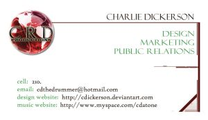 CRD Enterprises - BusinessCard by cdickerson