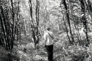 Dave in the Woods by michaelpolom